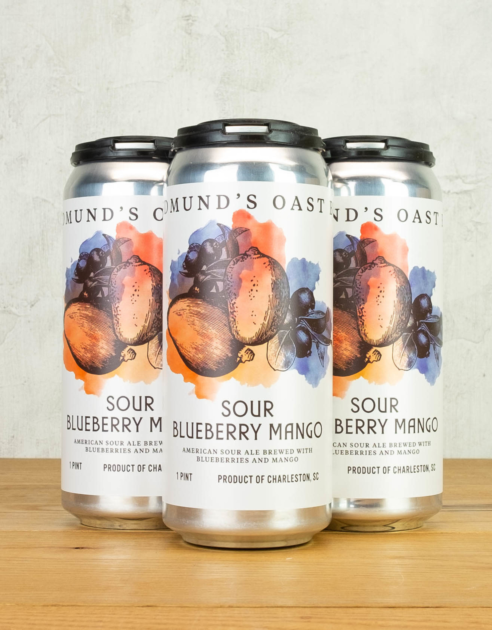Edmunds Sour Blueberry Mango 4pk