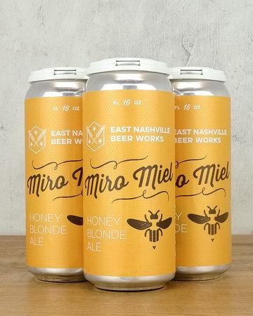 East Nashville Beer Works Miro Miel Honey Blond Ale 4pk