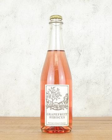 Potters Grapefruit Hibiscus Cider 500ml