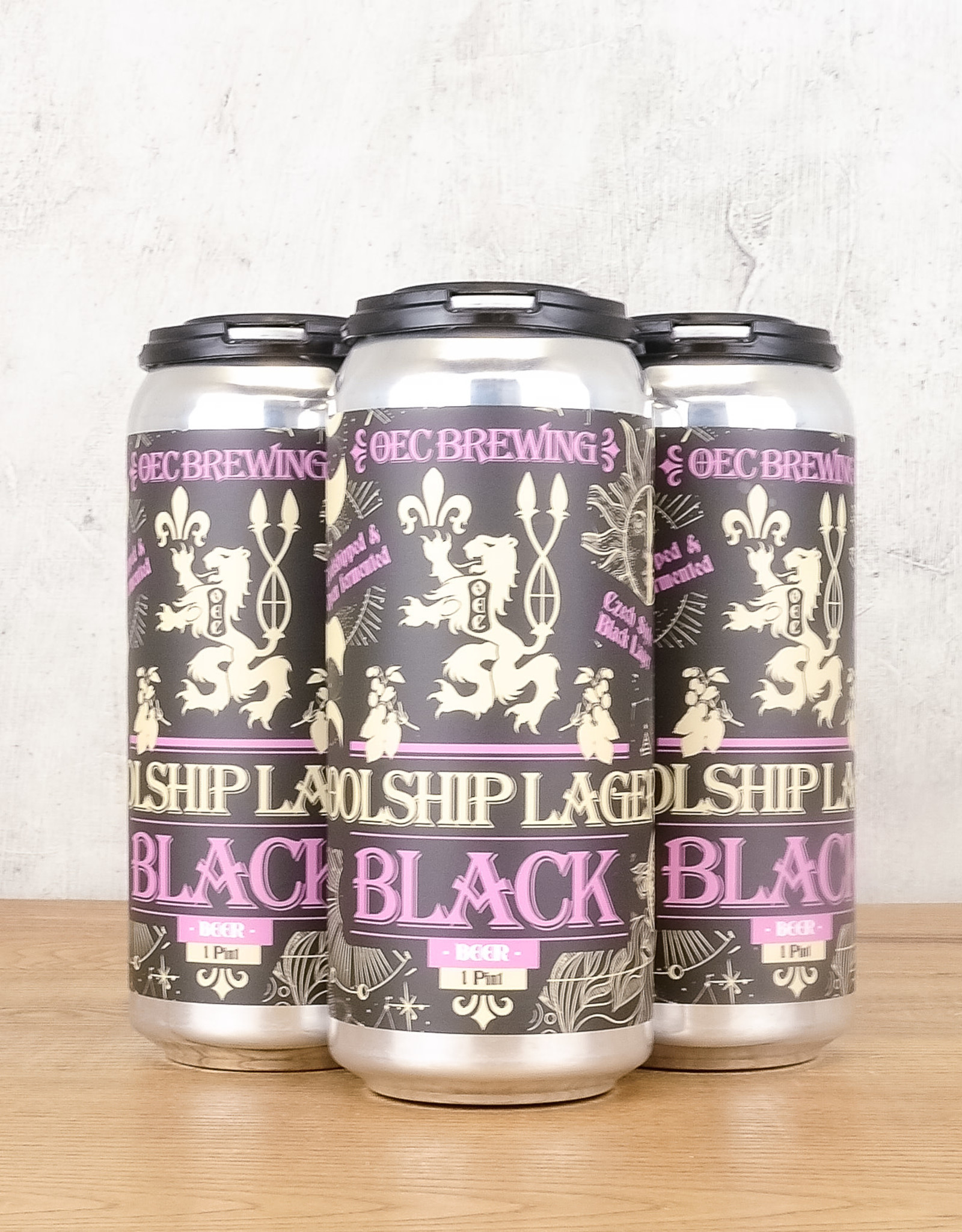 OEC Brewing Black Coolship Lager