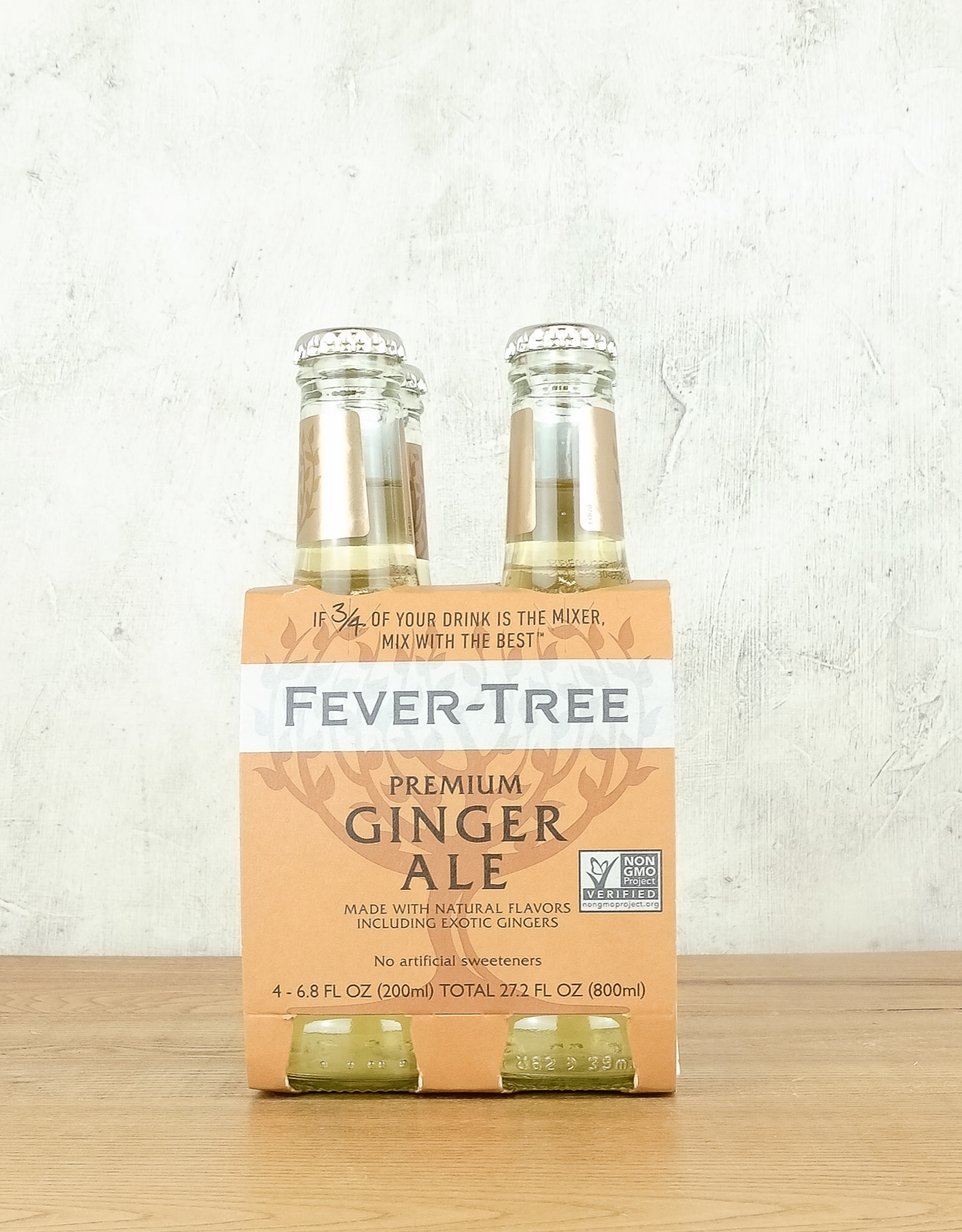 Fever Tree Ginger Ale 4pk