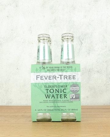 Fever Tree Elderflower Tonic Water 4pk