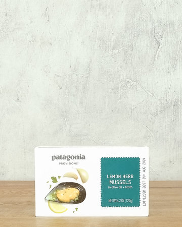 Patagonia Lemon Herb Mussels