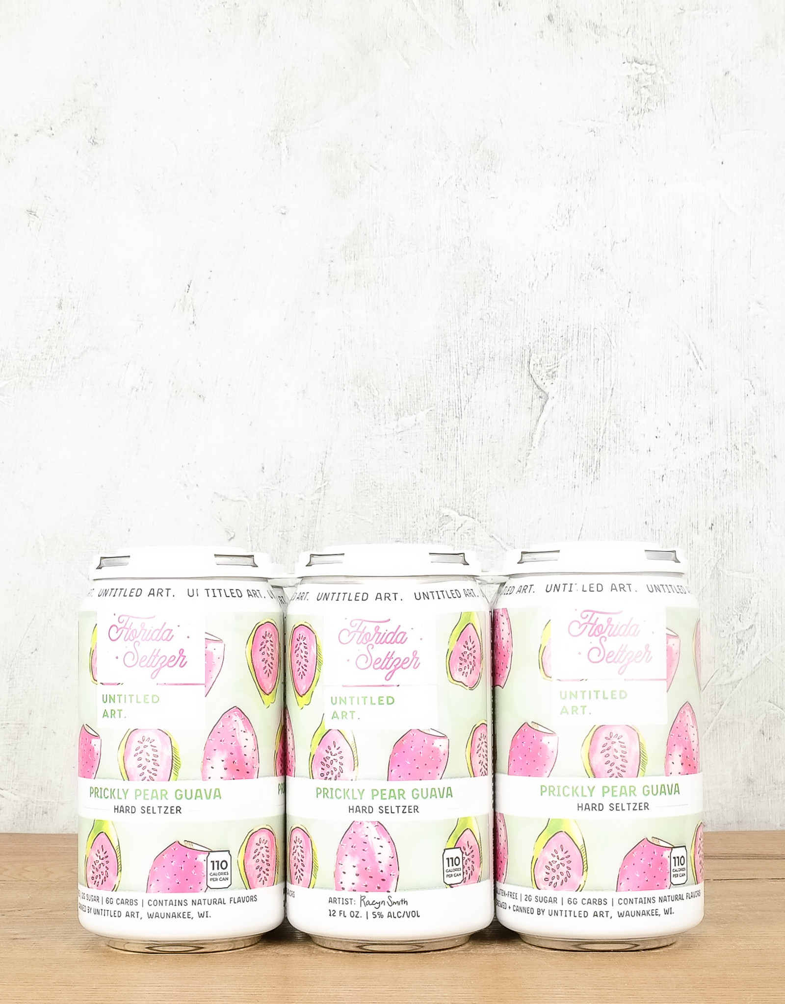 Untitled Arts Pear Guava Hard Seltzer 6pk