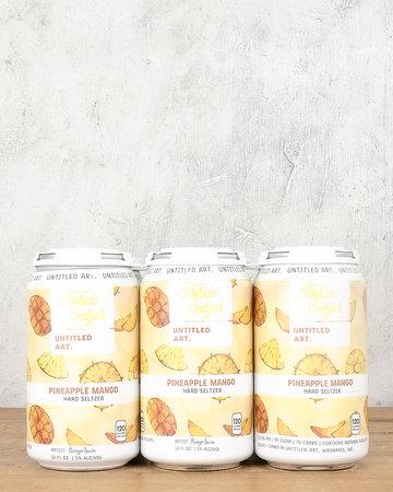 Untitled Art Pineapple Mango Hard Seltzer 6pk