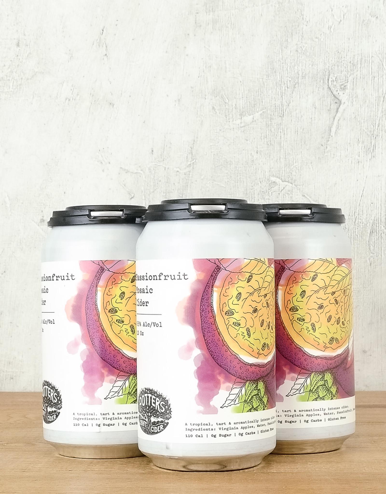 Potter's Passionfruit Mosaic Cider 4pk