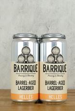 Barrique Barrel Aged Lagerbier Helles 4pk