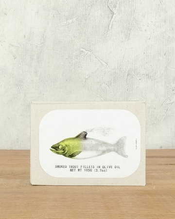 Jose Gourmet Smoked Trout Fillets in olive oil