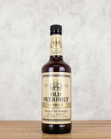 Old Overholt 114 Proof Straight Rye