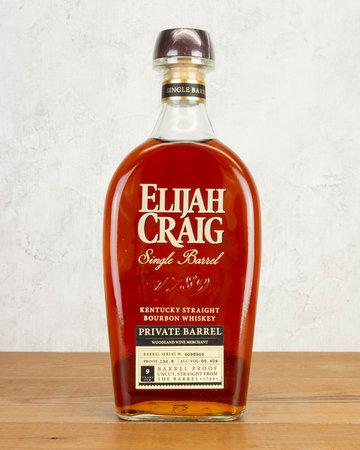 Elijah Craig Barrel Proof WWM Single Barrel