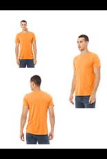 Orange Unisex Logo Tee