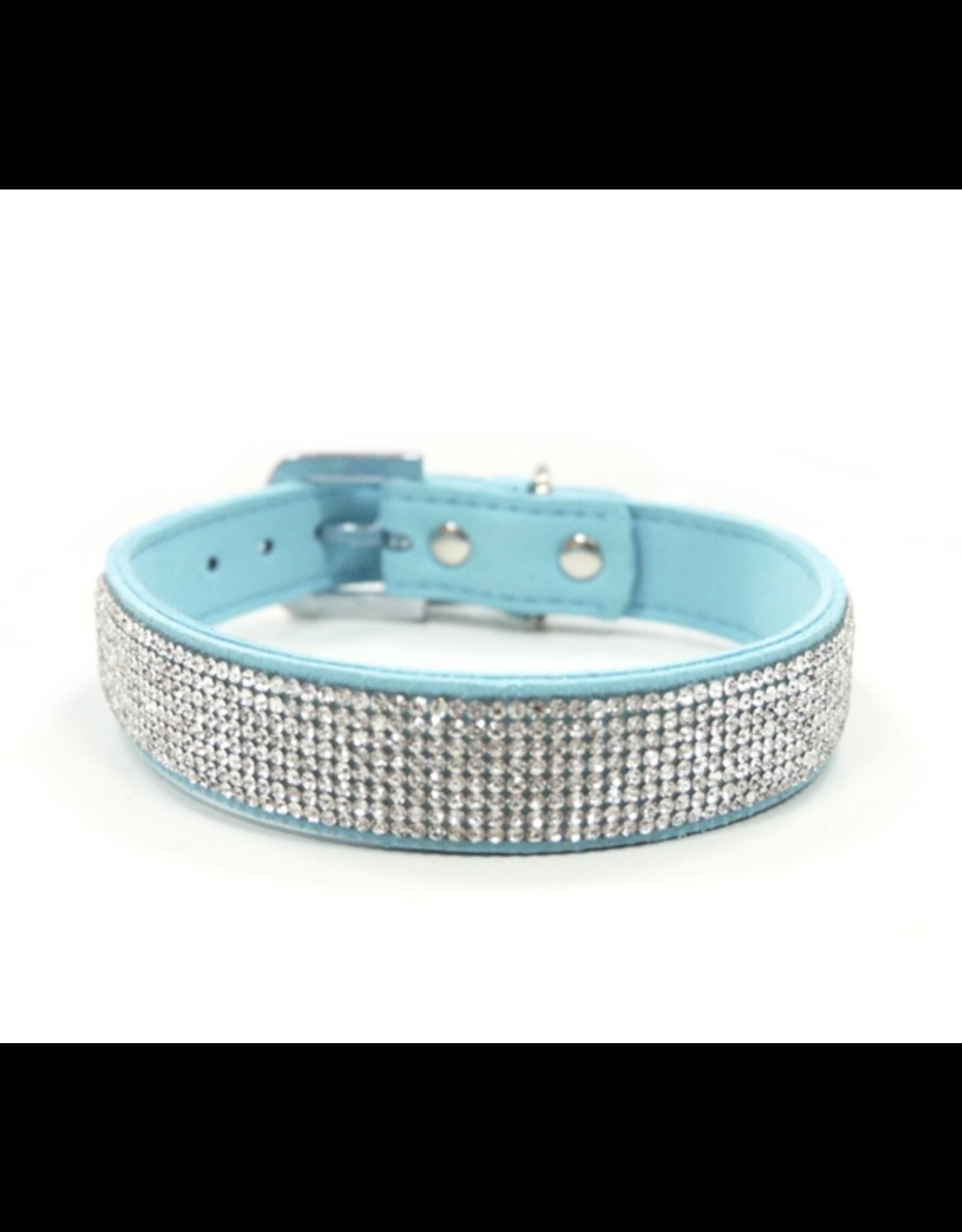 Dogo VIP Bling Collar - Light Blue