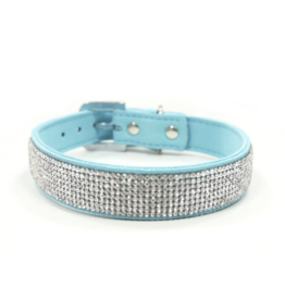 Dogo VIP Bling Collar - Light Blue
