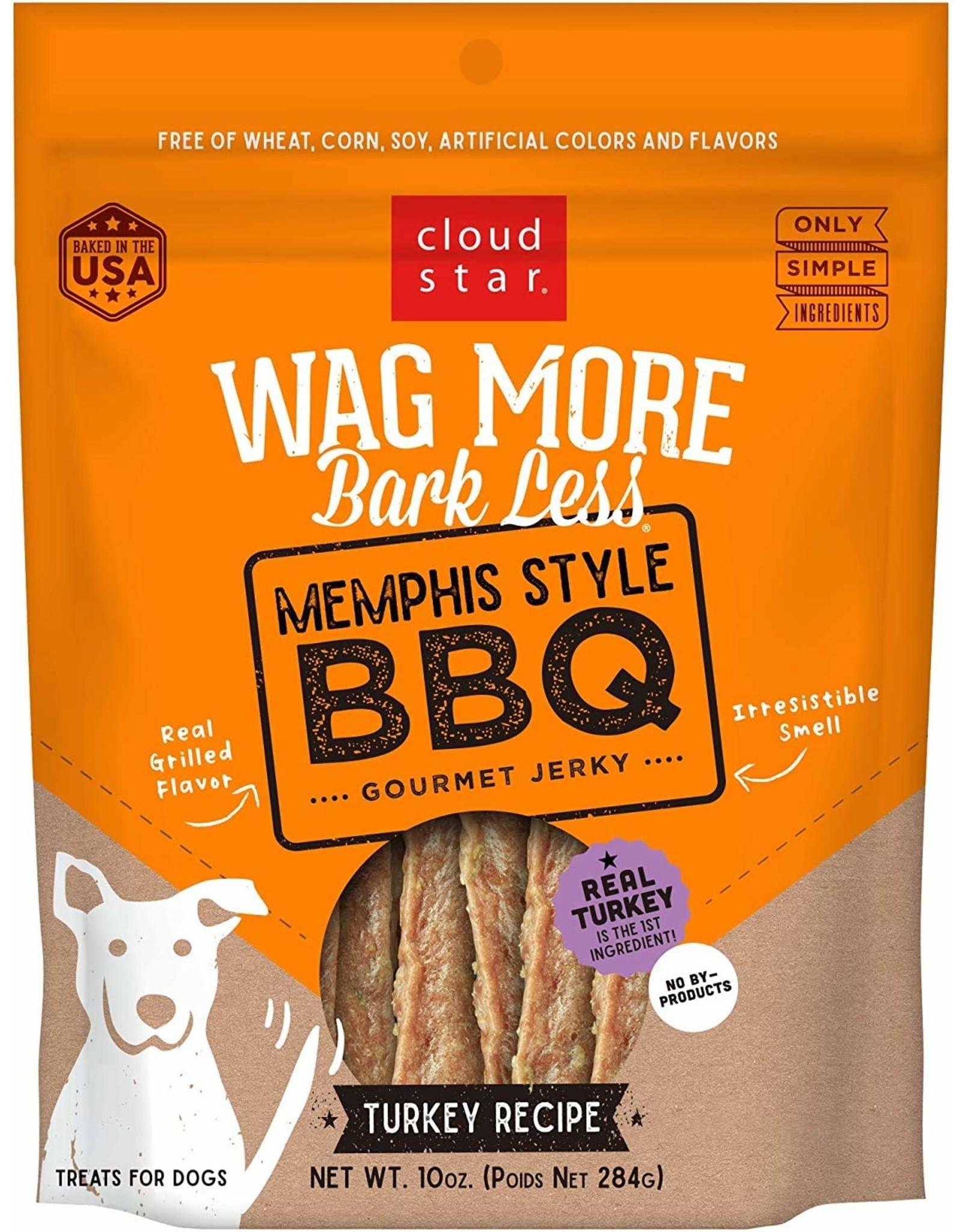Cloud Star Cloud Star Wag More Bark Less Grain Free Gourmet BBQ Jerky