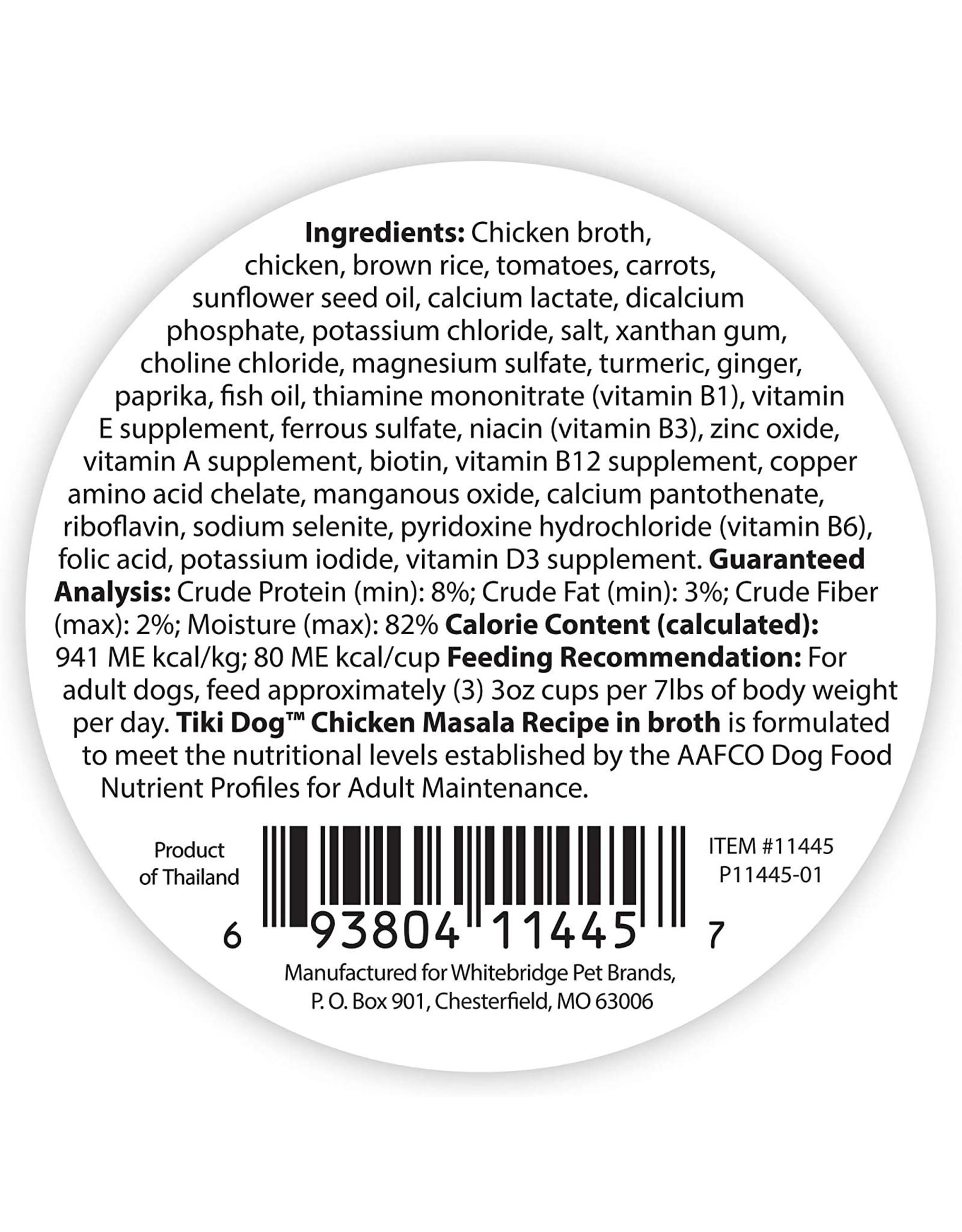 Tiki Pets Taste of the World - Chicken Marsala