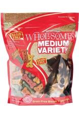 Sportmix Sportmix Wholesomes Medium Variety Grain Free Dog Biscuit Treats, 4 Lb.