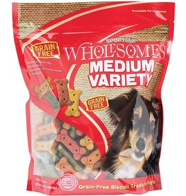Sportmix Sportmix Medium Variety  Treats, 4 Lb.