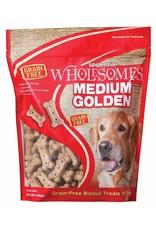 Sportmix SPORTMiX Wholesomes Medium Golden Grain-Free Biscuit Dog Treats, 4-lb bag