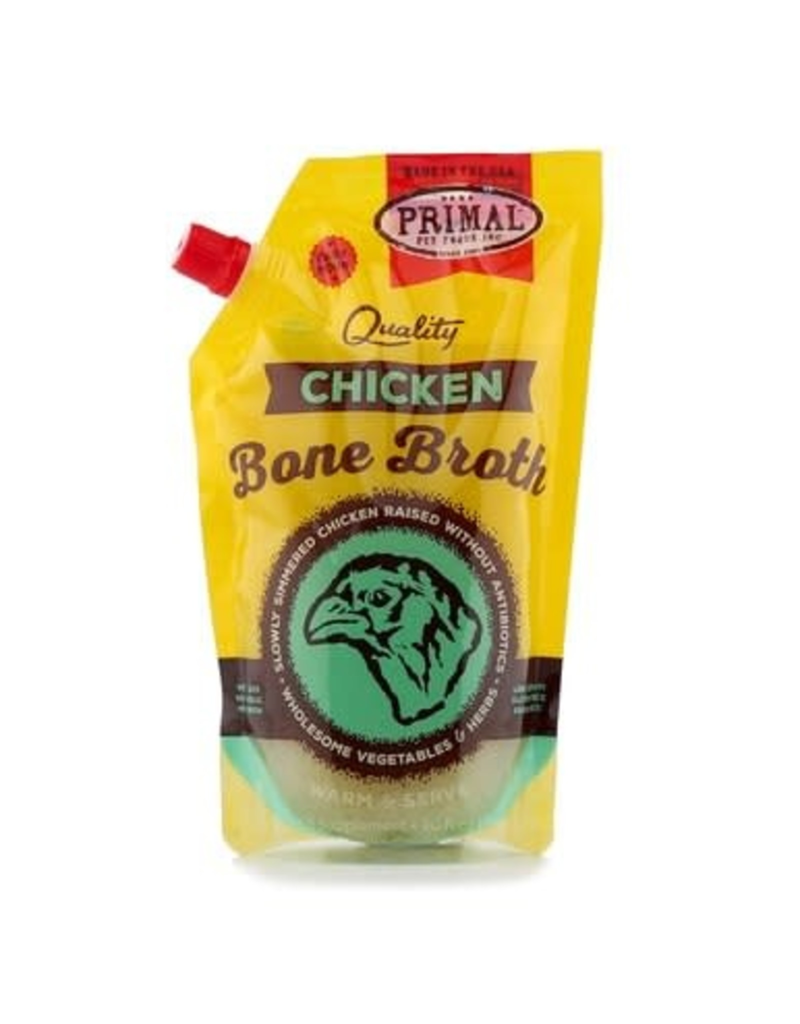Primal Primal Frozen Bone Broth - Chicken 20 OZ