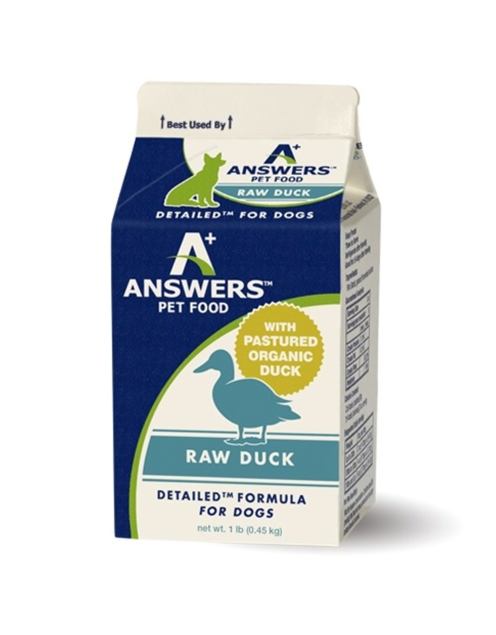 Answers Answers Detailed Raw Duck 1#