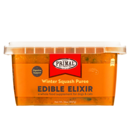 Primal Primal Frozen Edible Elixir Winter Squash Puree - 16 oz
