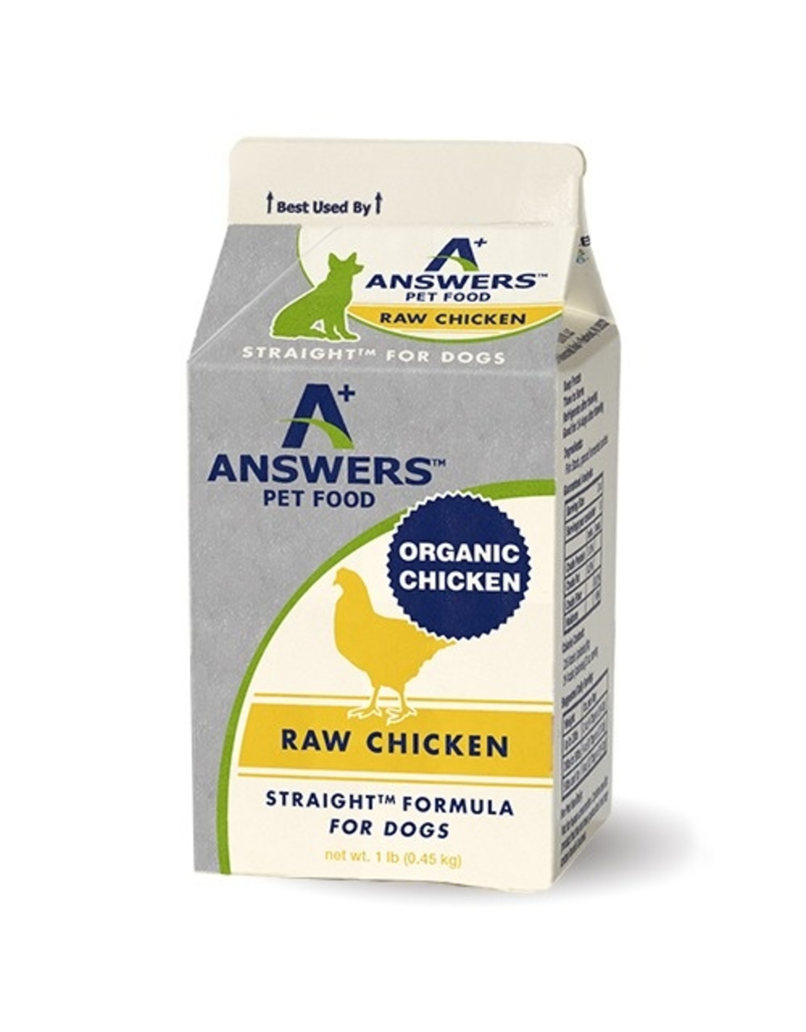 Answers Limited Ingredient Diet - Straight Chicken Formula 1#
