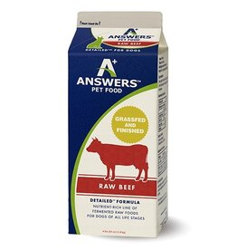 Answers Limited Ingredient Diet - Straight Beef Formula 4#