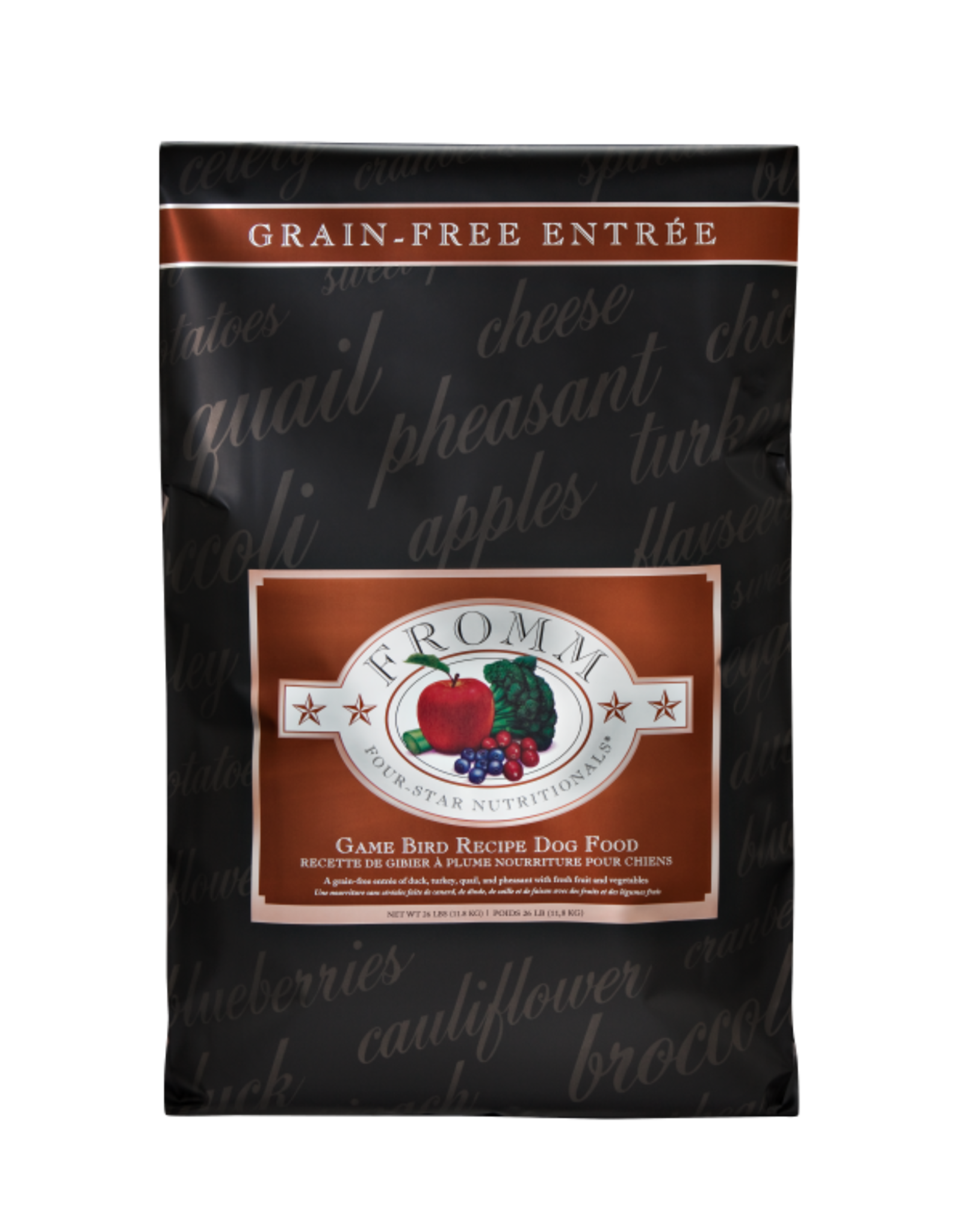Fromm Fromm Four Star - Grain Free Game Bird Recipe Dog Food