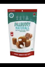 Presidio Natural Presido Pill Buddy Naturals Hickory Smoked Beef Recipe Dog Treats 150G