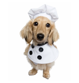 Pet Krewe Chef Uniform Costume