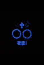 Pet Krewe Glow in the Dark Skull Bandana