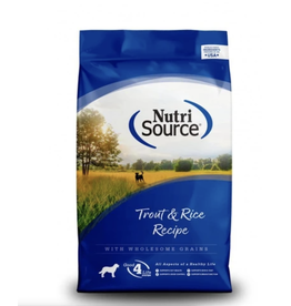 Nutri Source NutriSource - Large Breed Trout & Rice Recipe