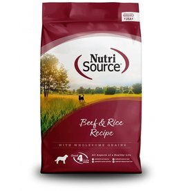 Nutri Source NutriSource - Beef & Brown Rice Recipe Dry Dog Food