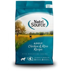 Nutri Source NutriSource - Adult Chicken & Rice Dry Dog Food