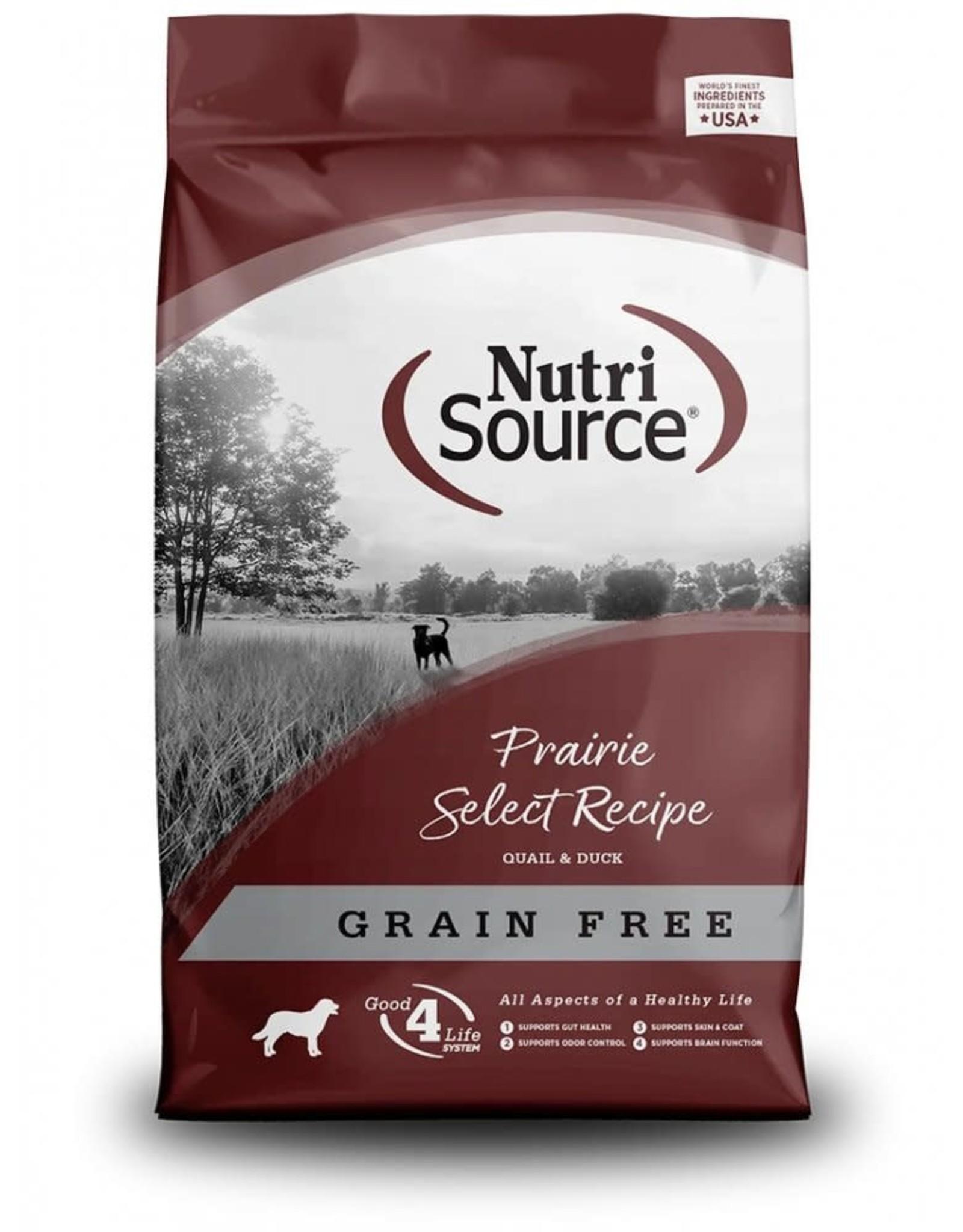 Nutri Source NutriSource - Grain Free Prairie Select Dry Dog Food