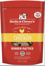 Stella & Chewys Stella & Chewy's Chewy's Chicken Dinner Patties Freeze-Dried Raw Dog Food 25OZ