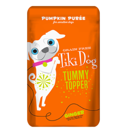 Tiki Pets Tiki Dog Tummy Topper Ginger Pumpkin Puree - 1.5 oz