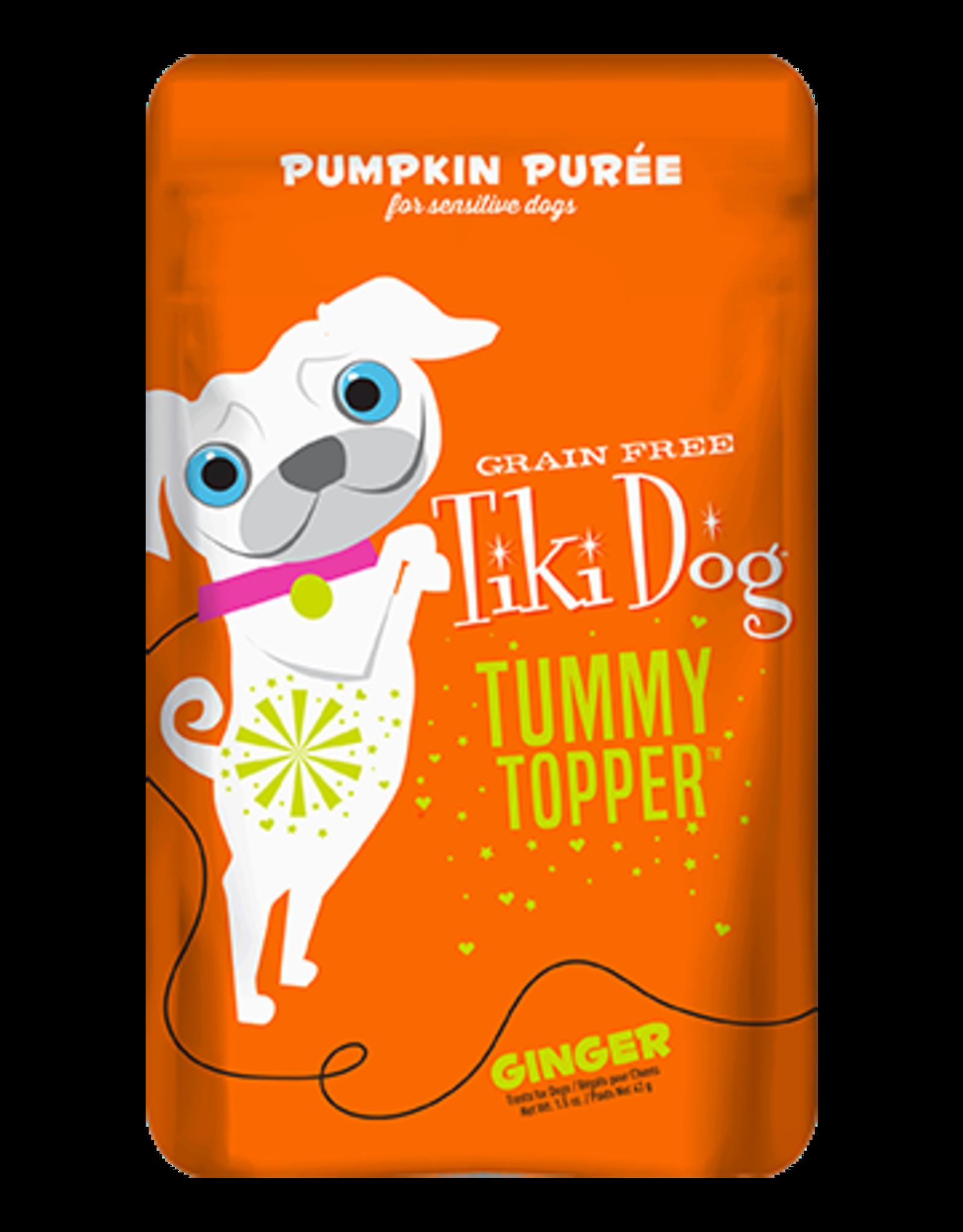 Tiki Pets Tiki Dog Tummy Topper Ginger Pumpkin Puree - 1.5 oz