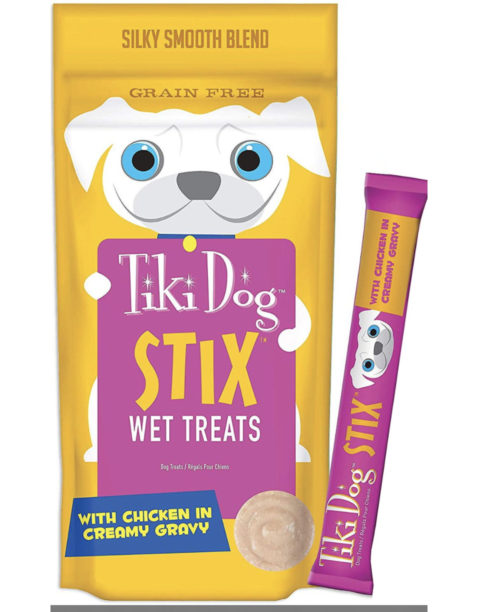 Tiki Pets Tiki Dog Stix Chicken in Creamy Gravy Grain-Free