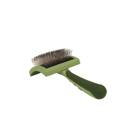 Coastal Safari Curved Firm Slicker Brush with Coated Tips for Long Hair