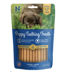 N-Bone N-Bone Puppy Teething Treats, 3.74-oz bag