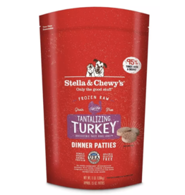 Stella & Chewys Stella and Chewy's Frozen Turkey Raw Patties