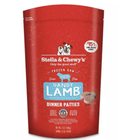 Stella & Chewys Stella and Chewy's Frozen Lamb Raw Patties