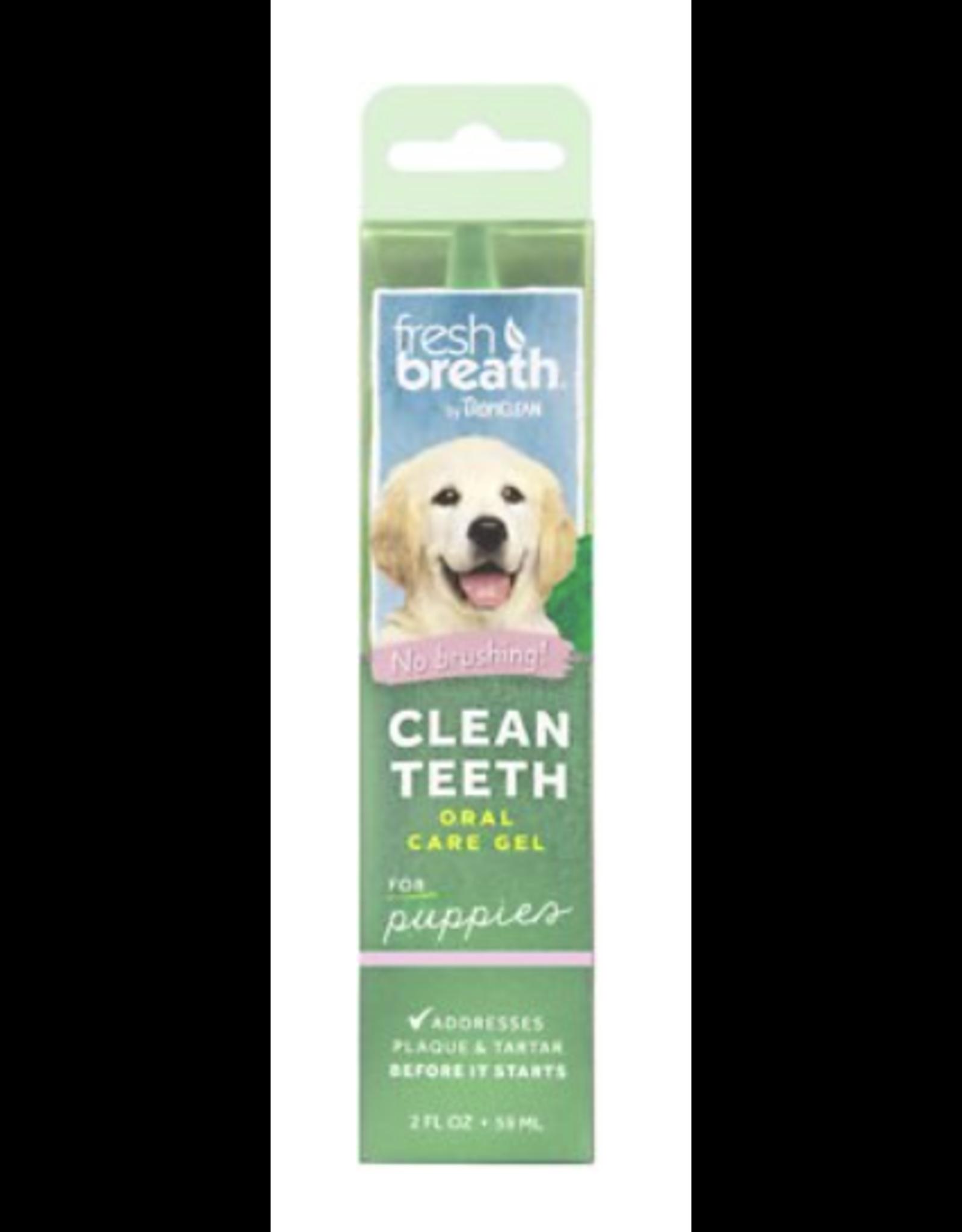 TropiClean TropiClean Fresh Breath Clean Teeth  Oral Care Gel 2OZ