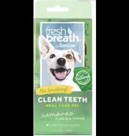 TropiClean TropiClean Fresh Breath Clean Teeth Gel, 4-oz