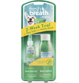 TropiClean TropiClean Fresh Breath Dog Dental Trial Kit