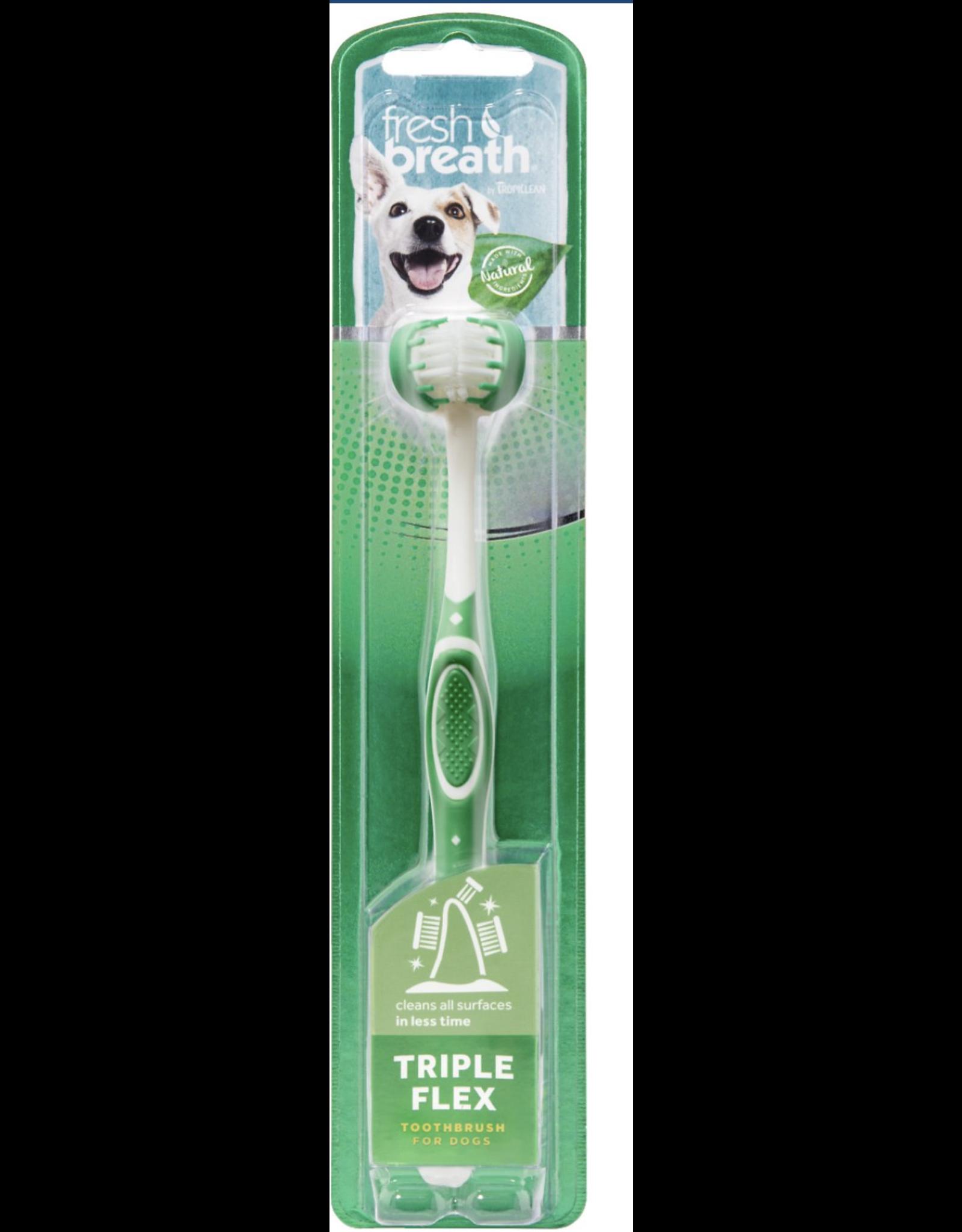 TropiClean TropiClean Fresh Breath Tripleflex Dog Toothbrush  LG