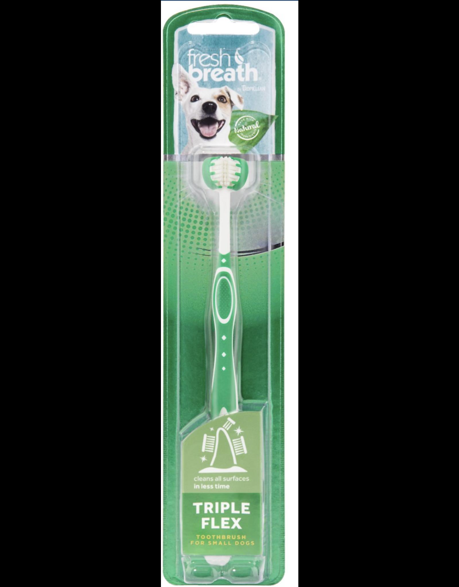 TropiClean TropiClean Fresh Breath Tripleflex Dog Toothbrush SM