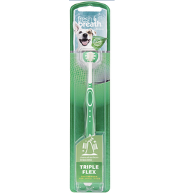TropiClean TropiClean Fresh Breath Tripleflex Dog Toothbrush SM