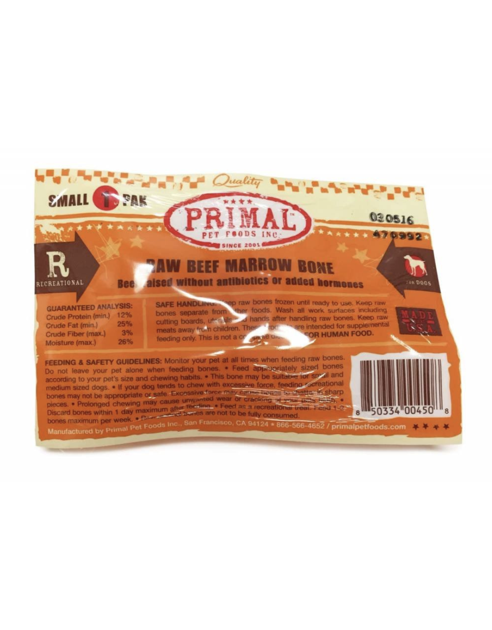 Primal Primal Bone Marrow - Recreational Bone